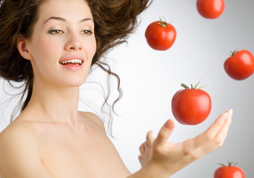 gommage naturel au sucre et tomate